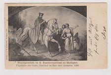 Frankierte Kunst & Kultur Ansichtskarten vor 1914 aus Deutschland