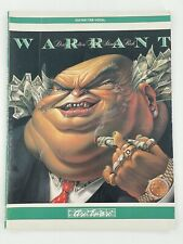 WARRANT Dirty Rotten Filthy Stinking Rich Guitar Tab Vocal Book 1989