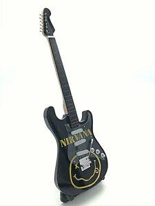Miniature Fender Standard  Stratocaster Guitar - Nirvana (Ornamental)