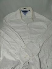 Tommy Hilfiger Long sleeve White Polo T-shirt size 15 1/2 32-33