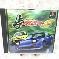 USED PS1 PS PlayStation 1 Pass MAX2 10226 JAPAN IMPORT