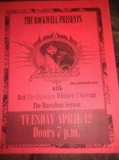 Flickerstick * Rare Concert Flyer Handbill *