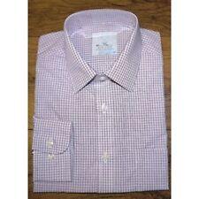 Marks and Spencer Cotton Check Regular Formal Shirts for Men