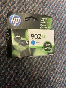 HP 902XL Cyan Ink Cartridge - New And Genuine