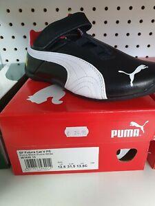 Puma Future Cat V PS Puma Black-Puma White Size UK 12.5