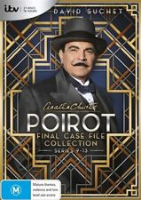 Agatha Christie - Poirot - Final Case File Collection Series 9-13 - DVD - SEALED