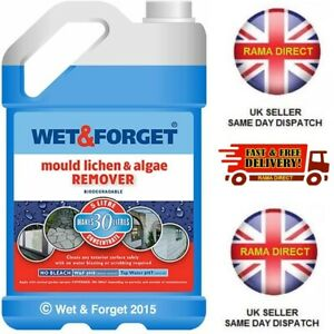 WET AND FORGET 5 LITRE FAST FREE P&P