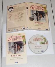 Dvd LE GRANDI OPERETTE Scugnizza di Carlo Lombardi Daniela Mazzacurato Lualdi