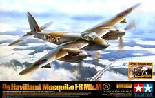 DE HAVILLAND MOSQUITO FB Mk.VI (FRENCH/BEL DECOS) TAMIYA 1/32 PLASTIC KIT