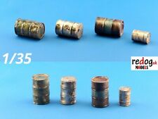 1:35 resin modelling/dioramas accessories kit -  oil and fuel barrels and drums