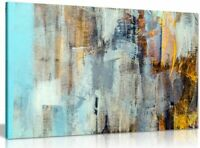 Abstract Modern Contemporary Home Canvas Wall Art Picture Print