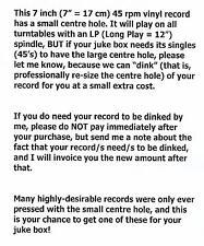 "GEORGE HARRISON  Blow Away & Soft-Hearted Hana BEATLES 7"" 45 rpm vinyl record"
