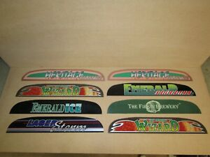 x8 NSM CD Jukebox Light Marquees, Heritage, Wizard, Emerald Ice, Laser Storm
