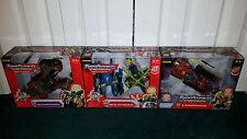 Scorponok + Bulkhead + Landmine Ultra LOT Energon Transformers Hasbro 2004 MISP