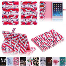For iPad 2/3/4 5th 6th Gen Air 2 9.7 10.5 Smart Wallet Leather Stand Case Cover