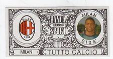 figurina - TUTTO CALCIO EURO MONETE  - MILAN DIDA'