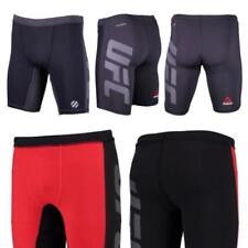 Men's Reebok UFC Fight Training Compression Shorts AP6793 AP6794 Red Black