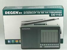 DEGEN DE1103 1.0 Version AM/FM/LW SSB Dual Conversion Digital World Band Radio