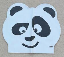 Chex Extensible Latex Panda Enfants Junior 3-7 Ans Chapeau de Natation Bonnet