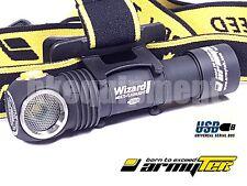 ArmyTek Wizard Pro v3 Cree XHP50 WW Magnetic USB Rechargeable Headlight+18650