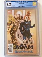 Adam: Legend of the Blue Marvel 1 - 1st appearance of the Blue Marvel CGC 9.2