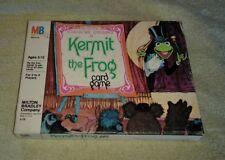 Kermit The Frog Card Game Muppet Jim Henson 1980 Milton Bradley Complete