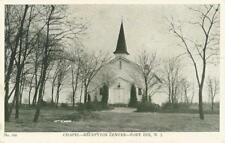 Postcard New Jersey Fort Dix Ft. Dix Chapel - Reception Center WWII US Army 1942