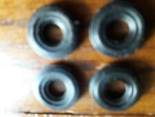Corgi Dinky x4 tyres black for tractor front and Crescent cars