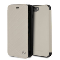 iPhone 7 Plus and iPhone 8 Plus Mercedes Benz Book Style Case Leather