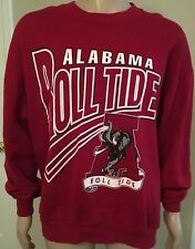 VTG EUC Alabama Roll Tide 50/50 Crewneck Sweatshirt Red Oak Made in USA XXL 2XL