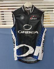 Orbea Authentic Team Men's Cycling Hydrophobic Treatment Vest Black Size XL