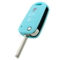 Car Flip Remote Key Shell Case Fob For Hyundai i20 i30 ix20 ix35 Elantra Accent