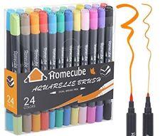 12 Color Premium Painting Soft Brush Pen Set Watercolor Copic Markers Pen Gift