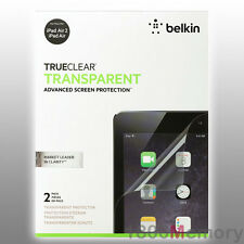BELKIN TrueClear Transparent Clear Screen Protector 2Pack for Apple iPad Air / 2