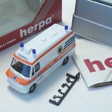 Herpa 1:87 087145 Mercedes-Benz 310 D RTW Promedic in OVP RT238