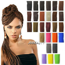 Jumbo Braid 100% Kanekalon Extension Braiding Hairs Soft Weaving Solid Mix Color