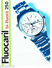 PUBLICITE ADVERTISING 046  1995  Fluocaril  dentifrice montre Seiko Quartz
