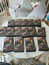 Knight Rider Vhs lot action sci-fi tv David Hasselhoff 15tapes
