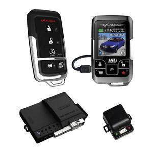 Omega Car Electronics AL20753DBL Excalibur 1 Mile Color 2 Way Security & Remote