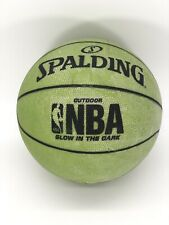 Vintage Spalding NBA Outdoor Glow In The Dark Basketball RARE