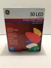 GE Energy Smart Colorite 50-Count Multicolor C9 LED Christmas String Lights