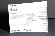 Fujifilm Finepix Fuji X-A1 Owners Manual