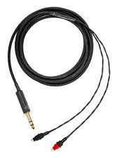 "Corpse Cable for SENNHEISER HD 650, HD 600, HD 660 S, HD 6XX - 1/4"" Plug - 10ft."
