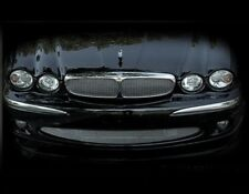 Jaguar X-Type Lower Mesh Grille Direct Bolt on (Bright stainless or Black) 01-07