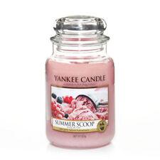 Yankee Candle große Kerze im Glas, 623g, Summer Scoop / Duftkerze / Kerze
