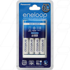 Panasonic Eneloop Charger with 4 x AA NiMH Batteries