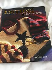 For the First Time®: Knitting for the First Time by Vanessa-Ann Collection Staf…