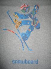 Sochi BOSCO 2014 Winter Olympics SNOWBOARD (XL) V-Neck T-Shirt SNOWBOARDING