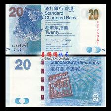 HongKong Hong Kong 20 Dollars, SCB, 2013, P-297 UNC