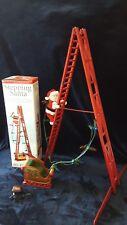 Mr Christmas Stepping Santa Climbing Ladder Lights 15 Carols 2004